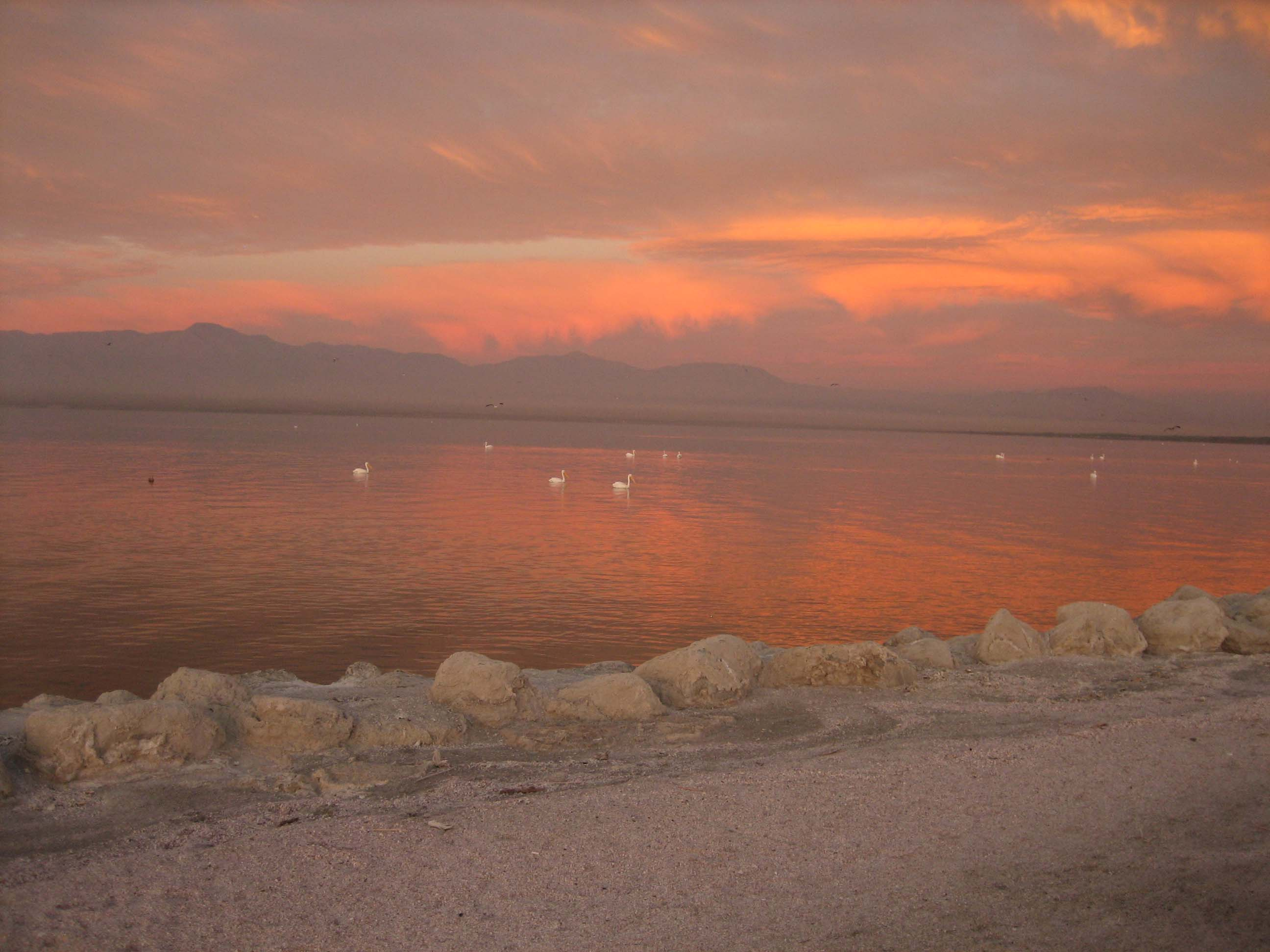 Sunrise at the Salton Sea 3